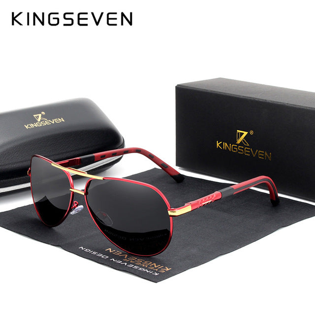 KINGSEVEN Polarized Aluminum Frame, Sunglasses - Amanda's Sunglasses and More