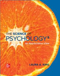 [PDF] [eBook] The Science of Psychology: An Appreciative View 5th Edition By Laura King