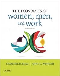 Solutions/Instructor Manual for Economics of Women, Men, and Work 8th Edition By Francine D. Blau, Anne E. Winkler