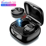 TWS Bluetooth 5.0 Earphone Stereo Wireless HIFI Sound Earphones with Mic for Phone