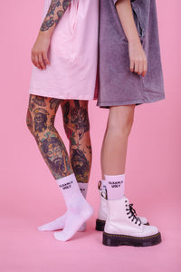 Clearly Ugly Logo Socks Trixi Giese Mareike Lerch Herder