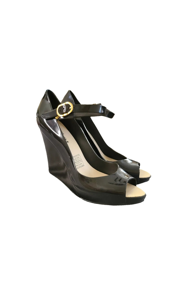 "Sags Wedges 4"" Black"