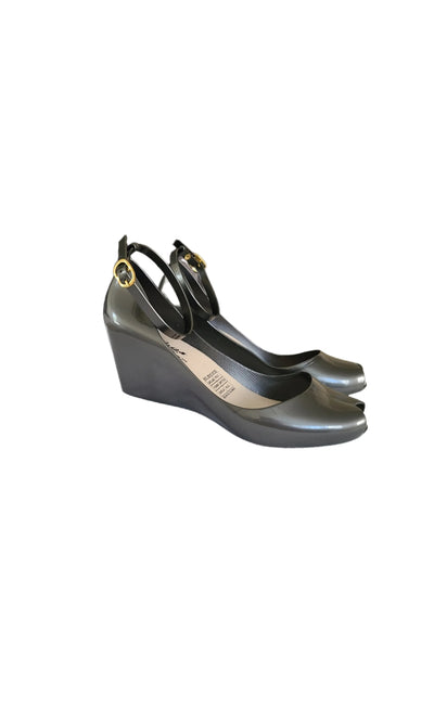 "Sags Wedges 2""  Silvery"