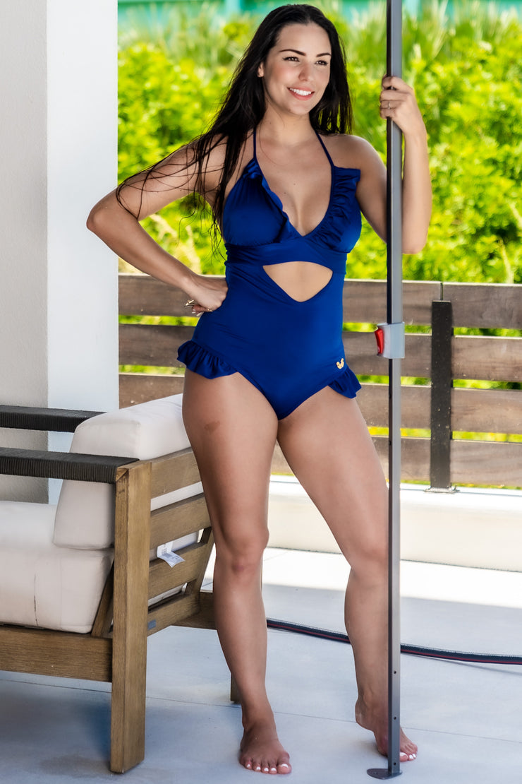 Blue Romance Deco One Piece