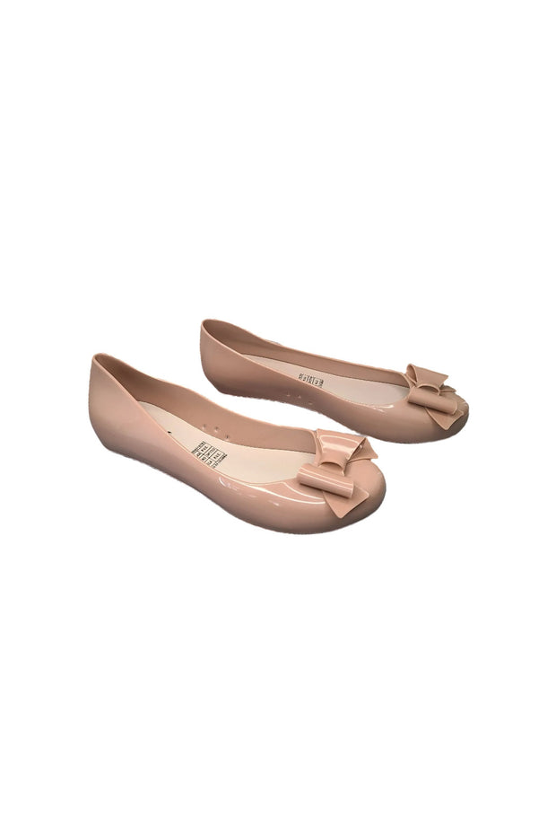 Sags Flats Nude/Nude Bow
