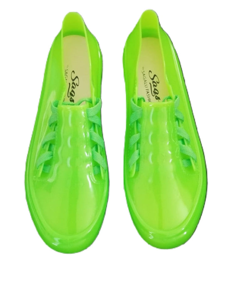 Sags Sneakers Green Neon