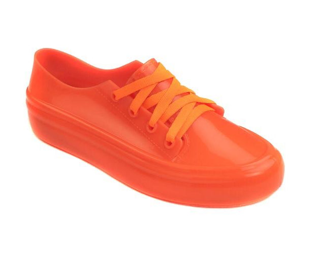 Sags Sneakers Orange Neon