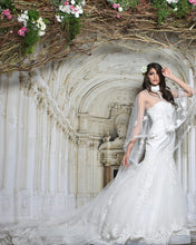 Load image into Gallery viewer, Mermaid White Trail Gown - Archana Kochhar India