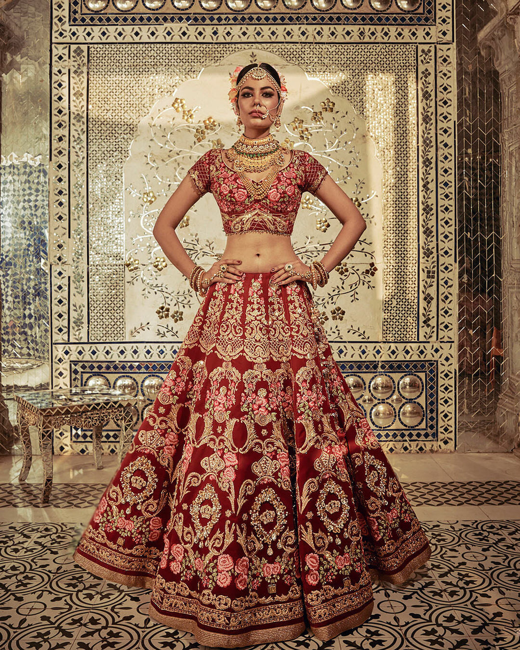The Royal Crest Lehenga