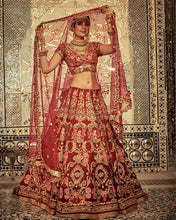 Load image into Gallery viewer, The Royal Crest Lehenga