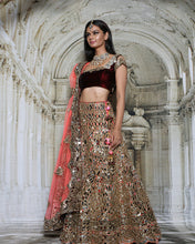 Load image into Gallery viewer, The Sheesh Mahal Lehenga