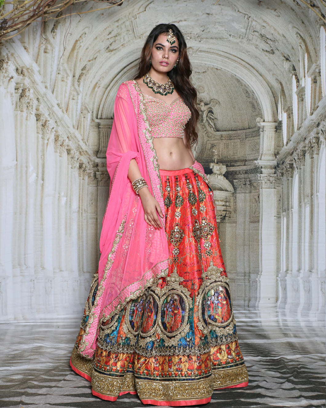 The Radha-Krishna Lehenga - Archana Kochhar India