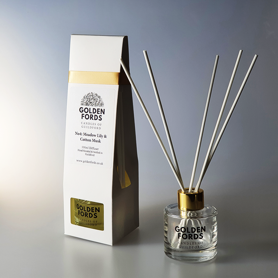 Meadow Lily & Cotton Musk - Diffuser