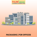 Package#2 | Disinfection services for OFFICES (Rs.3/Sq. foot)