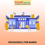 Package#3 | Disinfection services for BANKS (Rs.3/Sq. foot)