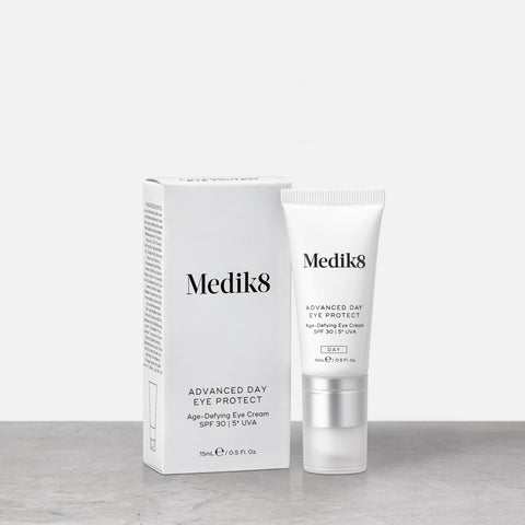 Advanced Day Eye Protect™ by Medik8. An Age-Defying Eye Cream SPF 30 | 5* UVA.