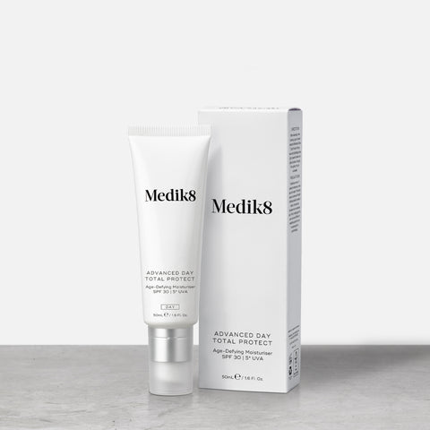 Advanced Day Total Protect™ by Medik8. An Anti-Defying Moisturiser SPF 30 | 5* UVA