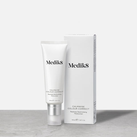 Calmwise™ Colour Correct by Medik8. A Redness Neutralising Moisturiser.