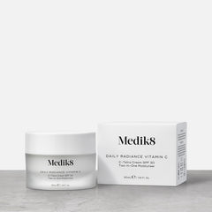Daily Radiance Vitamin C™ by Medik8. A Stable Retinal Night Serum Ultra-Strength Vitamin A