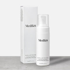 Micellar Mousse™ by Medik8. A Purifying & Nourishing Effortless Rinse-Off Cleanser.