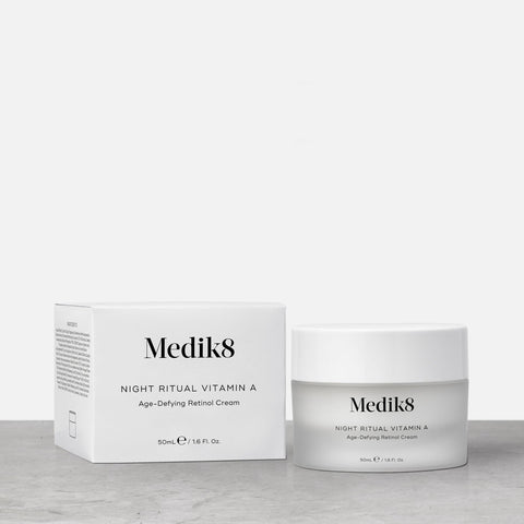 Night Ritual Vitamin™ A by Medik8. A Age-Defying Retinol Cream.