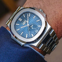 Patek Philippe- Stainless Steel Nautilus Automatic Date Mechanical-thumbnail