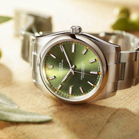 Rolex- Oyster-Perpetual-  Mechanical Stainless steel-thumbnail