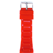 Iken red buckle strap