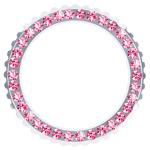 Rose Crystal Bezel