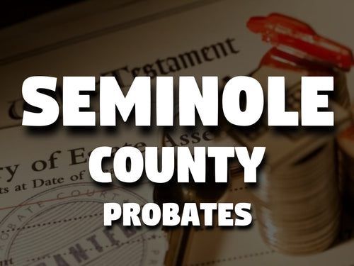 Seminole County Probates