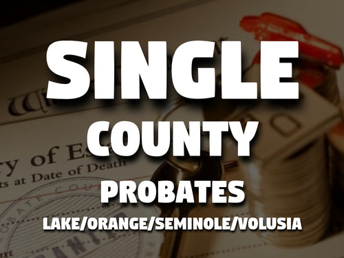 Single County Probates