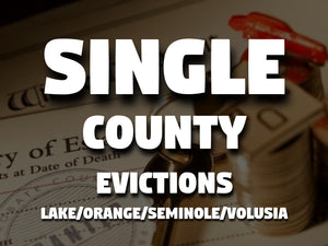 Single County Evictions
