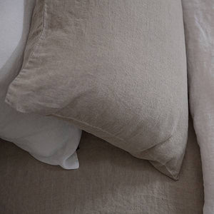 Ashley Stone Washed Pillow Case Standard 20x26 Natural