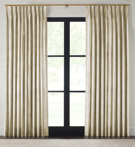 Natural Textured Silk Drape - Double Width