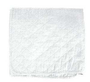 Quilted Coverlet -  Bleach White - Twin
