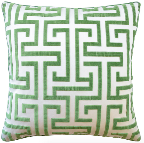 Ming Trail Pillow in Green