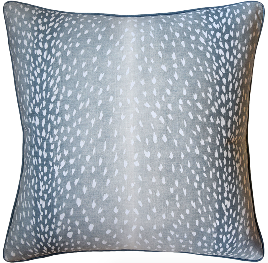 Doe Pillow in Aqua