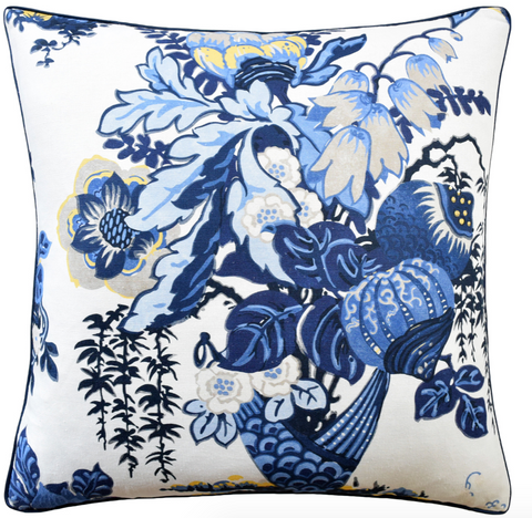 Fairbanks Pillow in Blue