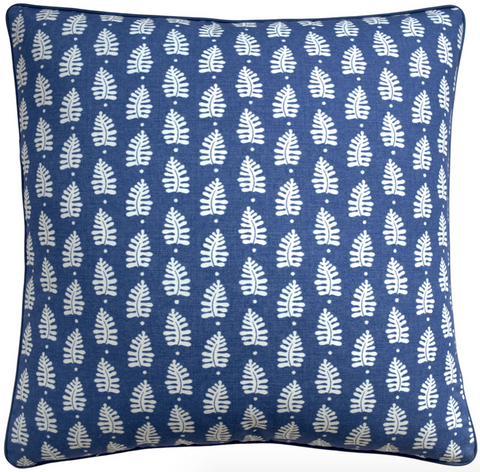 Ferndale Pillow in Navy