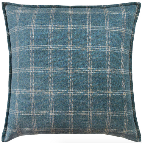 Bute Pillow in Teal
