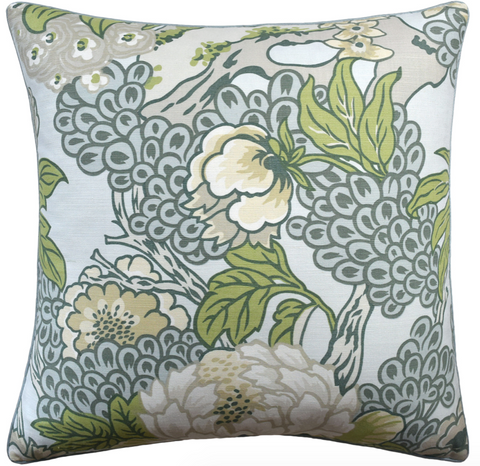 Honshu Pillow in Robins Egg Blue