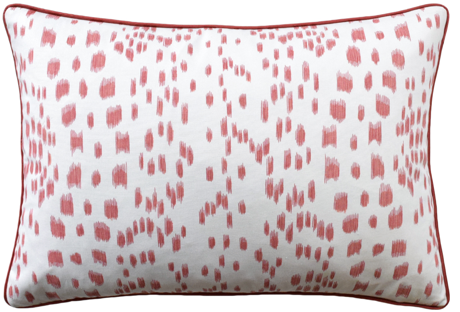 Les Touches Pillow in Berry
