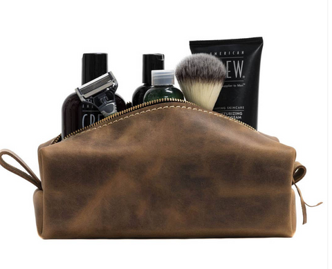 Leather Toiletry Bag (Unlined)