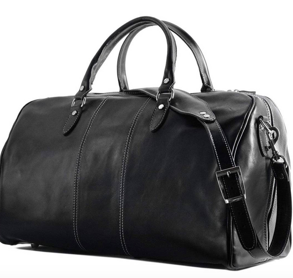 Venezia Leather Duffle Bag