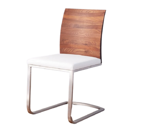 Walnut Mod Parsons Chair