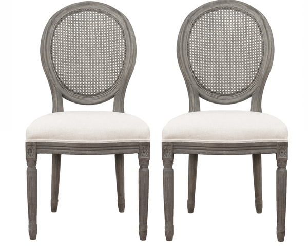 Trestle Dining Chair Pair