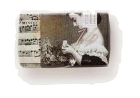 Woman With Music Hand Soap No. 14