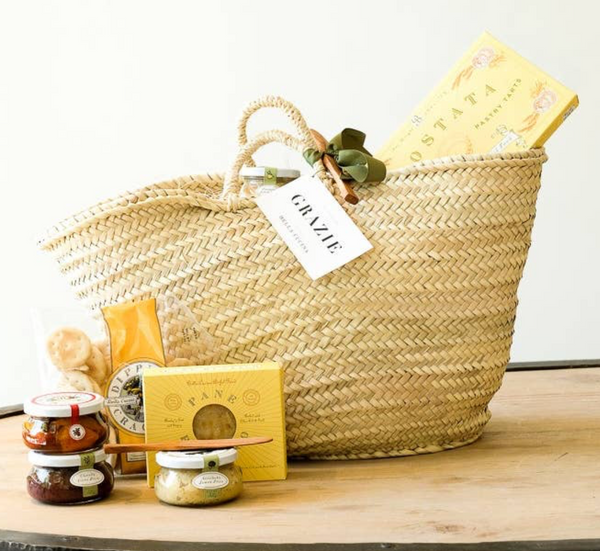 """O"" List favorite Antipasti Party in a Basket"