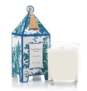 Hyancith Classic Toile Mini Pagoda Box Candle
