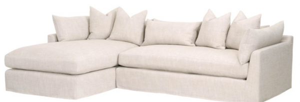 "Heaven 110"" Lounge Slipcover LF Sectional"